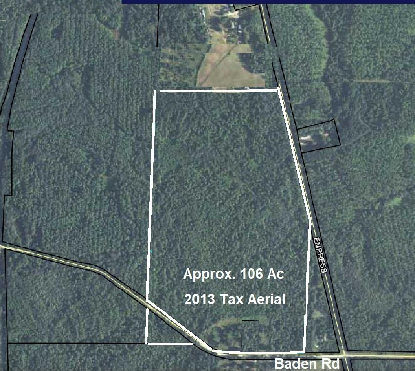 A great recreational tract, or reforestation opportunity.  A quick drive from Thomasville or Valdosta!