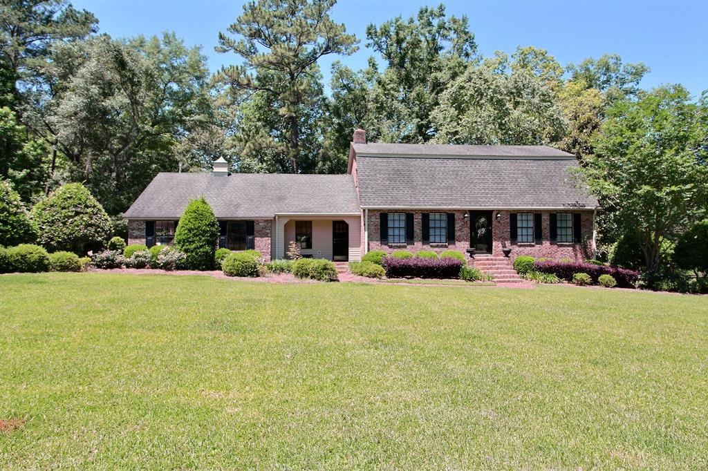 If you are looking for a Custom Built Home on 6 manicured acres in South Grady County then this is it. This home is in immaculate condition. On main floor you will find as you walk into the foyer a large formal living room to the right and a large dining room to the left. Continue through the foyer and a large guest bedroom is on the right with full bath in the hallway. Then enter the wonderful country kitchen.  Next to kitchen is a family room w/ built-in bookcases and fireplace. Just before stepping into the double garage is a large laundry room. Upstairs is the large master bedroom w/ bath and two more bedrooms/bath. Outside the kitchen is a double patio for entertaining. There is also a large Shed with electricity, great for entertaining also. There are 3 carports coming off the Shed. New Generator for the Entire House installed. Sprinkler system around the exterior of the home. Appointment needed to show property.