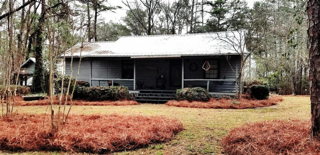 Looking for a cabin in the woods convenient to Thomasville, Tallahassee and Cairo? These 2 bed/ 3 baths tucked back on 10 + acres in the Beachton area is what you have been looking for. This home offers 2 living areas, a dining area, and a gas fireplace in 1 of the living areas. This property also contains a wired workshop as well as multiple covered storage areas. Call today for a private showing