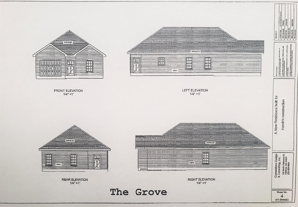 Under Construction! This brand new 3 bed/2 bath home is the perfect home for first time home buyers! This new home features 1,352 square feet, crown molding, trey ceilings in the living room and a Master Suite with a separate shower and walk in closet.