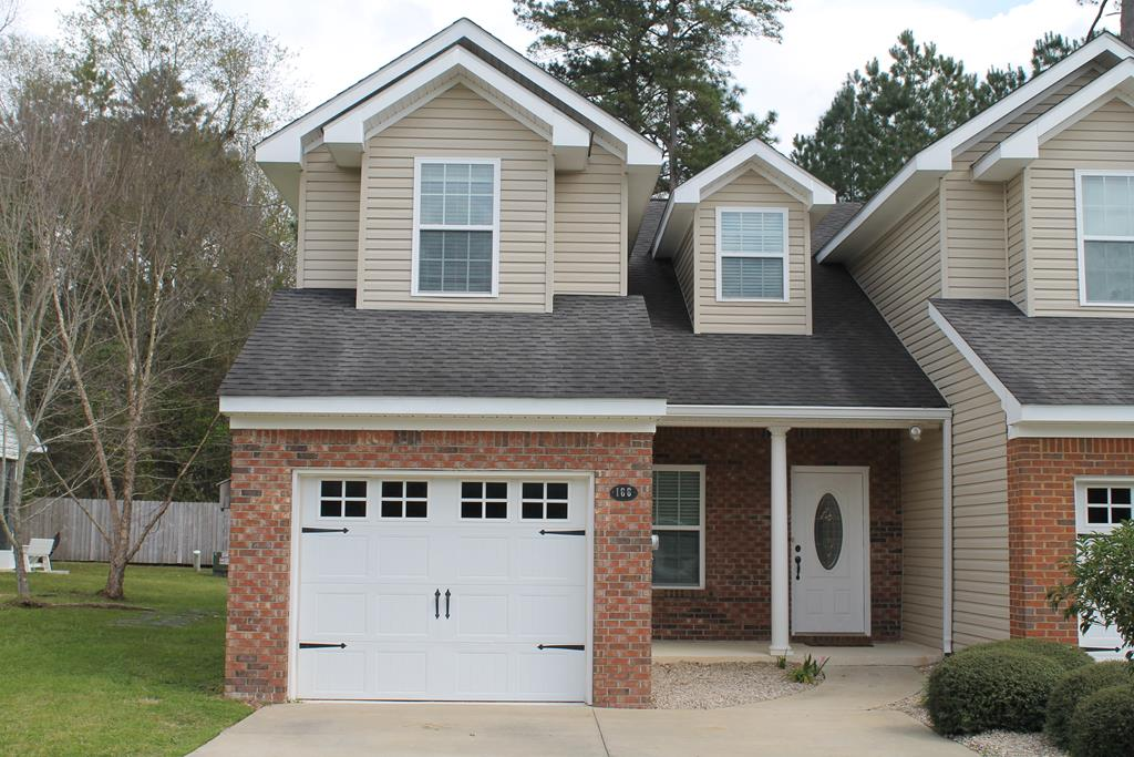 Rare opportunity to own a loft townhouse in Kenley Oaks Townhome Community. This gated community is convenient to all areas of Thomasville (via By-Pass, Pinetree Blvd or Glenwood Dr) near county & city schools and a short drive to Brookwood. Well maintained townhouse features 3 BR/ 2.5 BA plus bonus loft in 1900 sf. Additional space includes screened porch & patio. Upgrades include custom kitchen cabinets w/ Corian counters, stainless appliances & undermount cabinet lighting. Main level master suite has laminate wood floors, double vanities, jetted garden tub, oversized shower & walk-in closet. Upstairs has 2 bedrooms, bath, & bonus loft space perfect for office or playroom. Home has a single car garage. Clubhouse has a beautiful swimming pool & party room w/ kitchen & fitness area.  HOA dues are $135/month and cover exterior maintenance (pressure washing/roof replacement), clubhouse & common area tax & insurance, & gated access. Won't last long. Call today for an appointment.