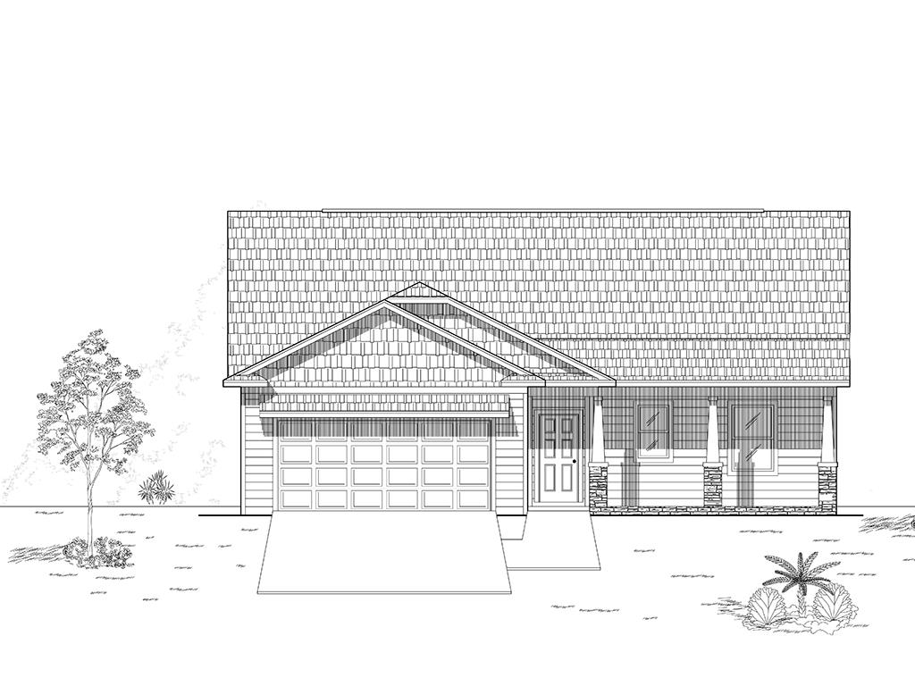 Brand new 3 bedroom, 2 bath under construction in Thomasville's newest in town neighborhood. Located in the cul-de-sac, enjoy the low maintenance lifestyle Mitchell Place offers. Kitchen has lots of cabinets and great countertop space, a walk in panty, and separate breakfast area. Open to the family room this plan offers a large gathering and entertaining space. Off the family room is a covered lanai that will keep you protected from the sun and rain. Nice master suite with private bath and the biggest walk in closet you'll find in this size home. Two additional bedrooms with walk in closets share a full bath with double vanities. Off the double garage are the oversized laundry room with utility sink and drop zone and bench seating. You'll find so much storage space throughout the home in multiple closets, and a large attic is available if you need more. Customize your flooring, paint colors and fixtures with an early contract. Expected completion date is August 31.