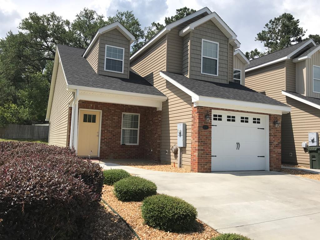 This 3 bedroom, 2.5 bath  townhome is situated in Kenley Oaks gated community. The interior features an open floor plan with the master suite on the main level. Master bath features walk-in closet, double vanity and large tiled shower. Kitchen has hard surface countertops and stainless appliances. Laundry room is off the kitchen.  The second level has 2 bedrooms and a full bath, and bonus area which is great for entertaining. Screened in porch, patio and 1 car garage are just some more features of this well kept townhome.  There is a community Pool, clubhouse, & exercise facility to enjoy & use