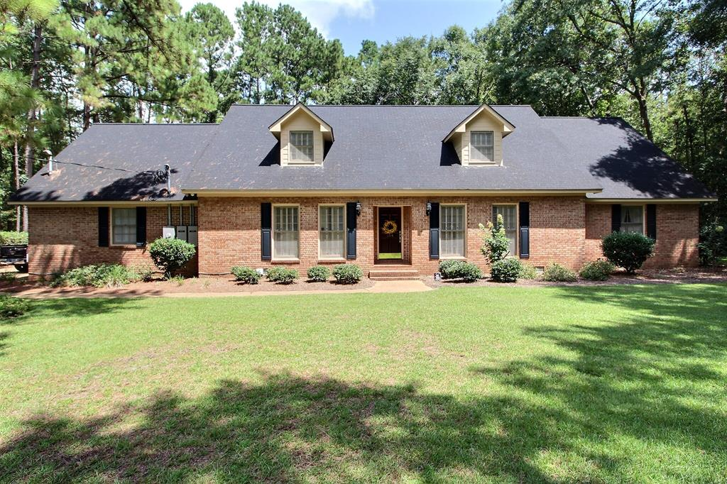 This well-kept 2 story brick home is in the very popular Brookwood School Area, Tall Pines Subdivision just outside of the city limits of Thomasville. This home sits at the end of a very private cul-de-sac. Features are, over 3800 sq ft with 4 bedrooms and 2.5 baths, modern kitchen, family room with fireplace, living room, dining room, large laundry room, sun room, large brick patio, 2 car garage, 2 car carport with attached storage area, a 22 KW standby Generac Generator with propane gas, sprinkler system, security system and many other fine features.