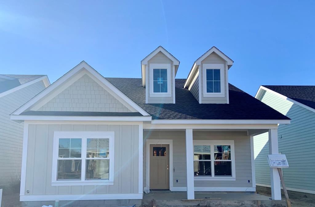 New row house under construction in popular Jamestowne at Madison Grove!