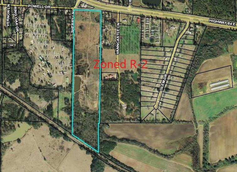 Calling all developers!!!!!  This is the prime location for your next development!  Ideal location with city water and R-2 Zoning.   Property can also be purchased with home and approx. 13 additional acres.  Call today to schedule a viewing!