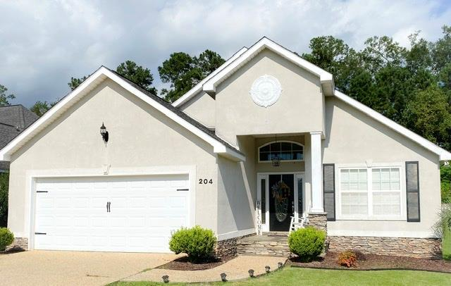 CITY LIVING AT ITS BEST!   ONLY 1.2 miles to the Bricks of DOWNTOWN Thomasville! This Charming Home, is situated on the interior section of Summercreek Cove, making this location Highly desirable! Inside, you will find all stainless steel appliances, gorgeous Granite countertops in the Kitchen, Master Bathroom AND Guest Bathroom!!. BRIGHT & open concept!! The gorgeous  private fenced in back lawn, features a NEW FENCE, & extended outdoor living space & deck, ready for entertaining and Barbecuing! This is the ONLY ONE LEVEL Home, on an interior lot,  For Sale in the neighborhood, and the ONLY one with ALL Granite, as this very popular location SELLS FAST! Come take a look!