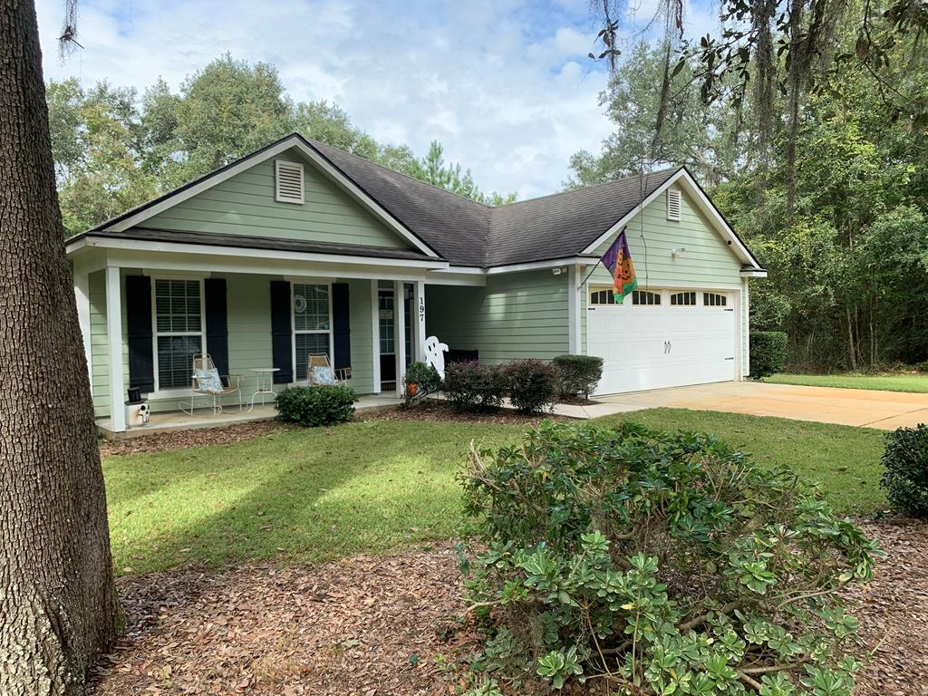 Check out this great centrally located home only 10 minutes from Valdosta's central shopping and entertaining hub. 30 minutes from Thomasville. This home is located on a nice quiet street tucked off to it's self. Home boasts of 4 nice size bedrooms, 2 baths, a split floor plan. Living room has travertine flooring, tile in kitchen and bathrooms and carpeted bedrooms. Really nice home great for the person that wants to be near everything but just not too near. Call your favorite REALTOR today for a private viewing.
