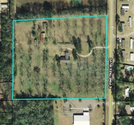 Commercial zoned property in the City Limits of Thomasville. There could be many uses for this rare piece of property. There is a home located on this property that could be used as an office or moved to another location.