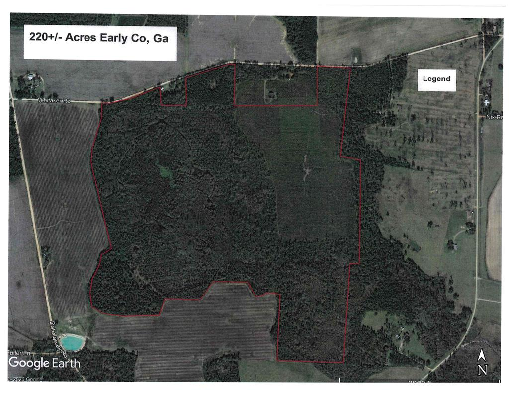 This all wooded property is the perfect bedding area for all types of wildlife with it being surrounded by a lot of agricultural land. There are cypress and gum ponds that could attract waterfowl and uplands for growing timber and hunting or just a place to ride ATVs. The property did receive some damage from hurricane Michael but is showing a lot of regeneration and recovery. With some proper TLC this place can be a super recreational piece of property.