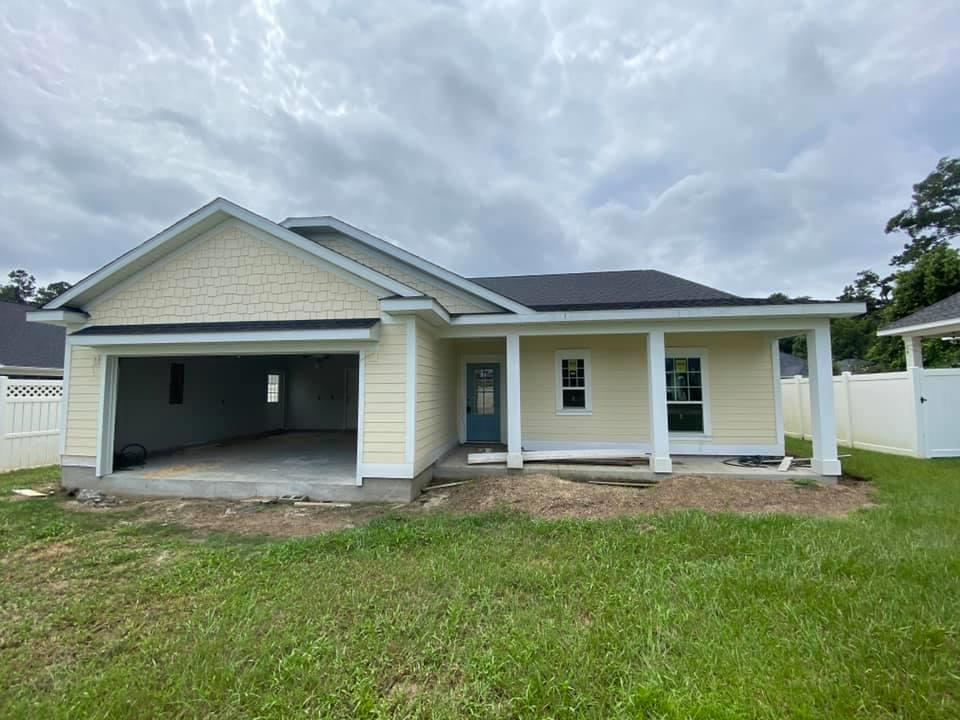 Brand new 3 bedroom, 2 bath under construction in Thomasville's newest in town neighborhood. Located in the cul-de-sac, enjoy the low maintenance lifestyle Mitchell Place offers. Kitchen has lots of cabinets and great countertop space, a walk in panty, and separate breakfast area flooded with natural light. Open to the family room this plan offers a large gathering and entertaining space. Off the family room is a covered lanai that will keep you protected from the sun and rain. Nice master suite with private bath and the biggest walk in closet you'll find in this size home. Two additional bedrooms with walk in closets share a full bath with double vanities. Off the double garage are the oversized laundry room with utility sink and drop zone and bench seating. You'll find so much storage space throughout the home in multiple closets, and a large attic is available if you need more. You will love easy living in this brand new in town home!