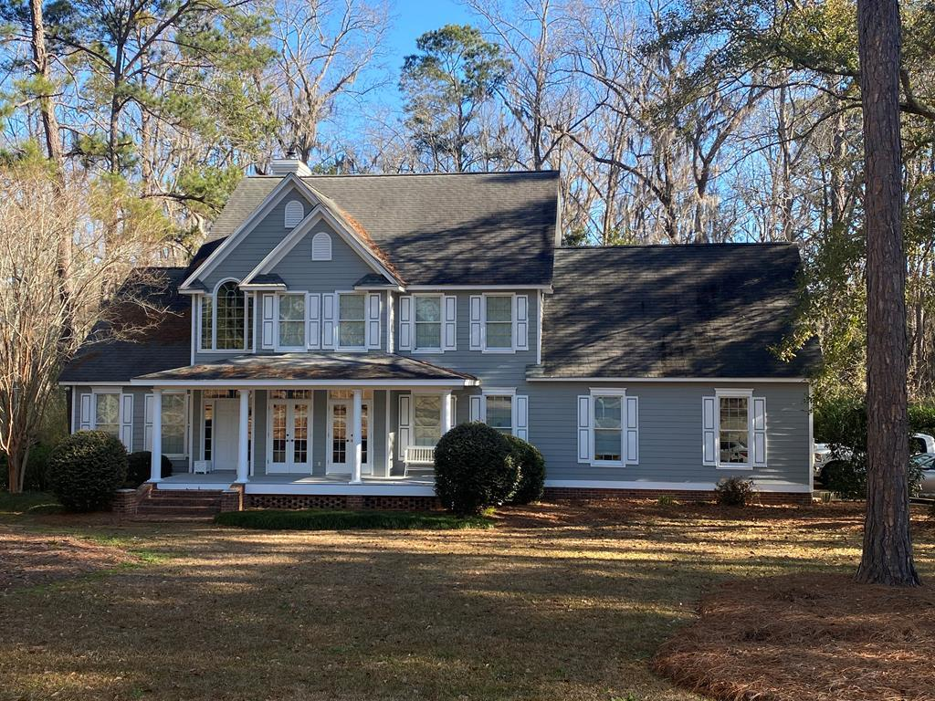 A builder's dream can now be yours.  After raising the kids, the builder has decided it's time to downsize and enjoy the country life.  This 4BR/3.5 bath is located in a premier subdivision near the Tired Creek Golf Course.  The 2.45 acre lot begs for morning coffee on the porch overlooking the woods.  This would be a great place to call home.