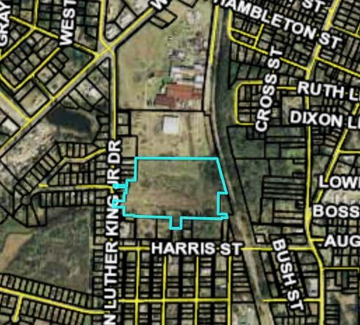 10+ acres in Thomasville.  Zoned Manufacturing.