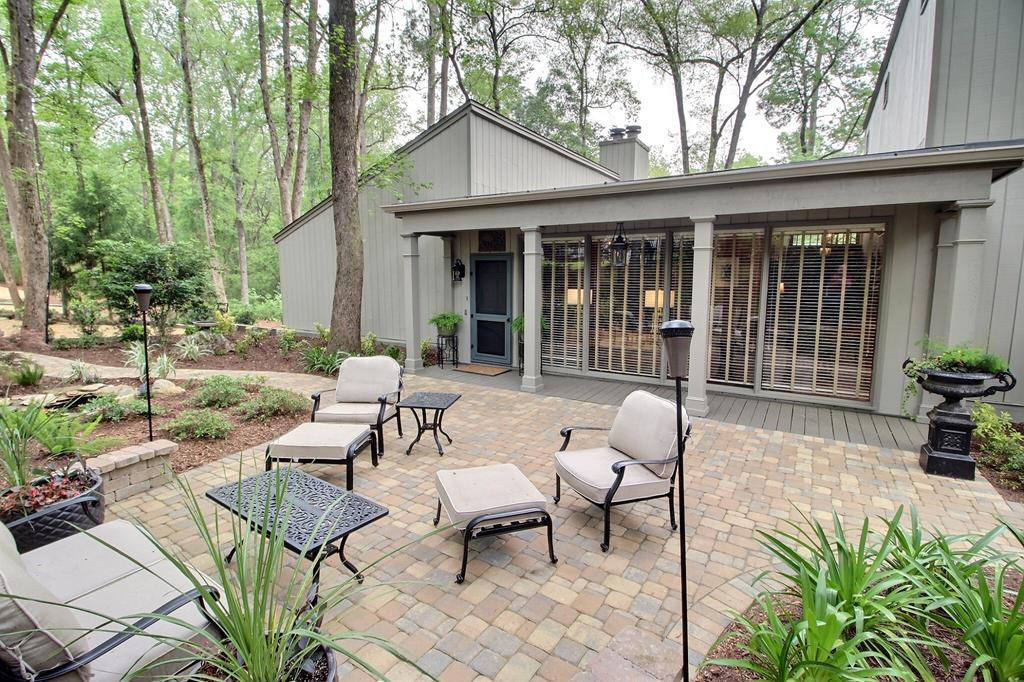 Totally remodeled contemporary home on beautiful Gordon Avenue. Every room you enter is filled with an entire wall of plate glass windows that look out into woodlands. Situated on 2.83 acres in the middle of town, this home has front and back decks perfect for entertaining. The master suite is enormous with a separate sitting room, deep walk-in closet, and a luxury bath. The remaining 2 bedrooms both have deep closets with custom built-ins and each have their own bath. Wide plank flooring runs through the downstairs of the house and the kitchen has been totally remodeled and updated. This is a truly unique home.