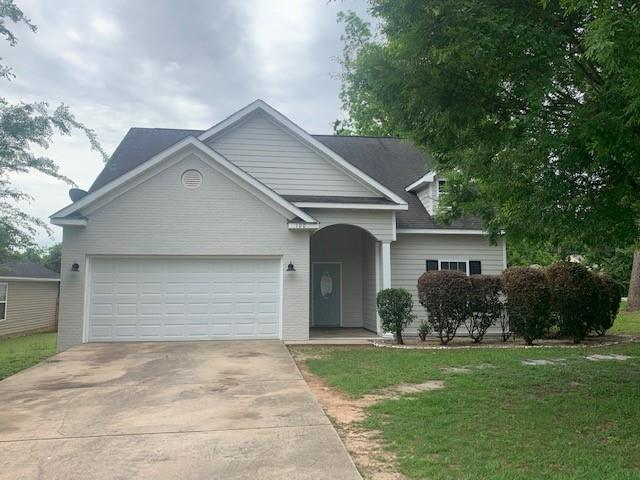 Hurry and look at this one...it won't last long!  This 3 BR, 2 Bath home is now on the market and ready to see!  With 1420 Square Feet, it has fresh paint, new carpet, an open living / dining area, 2 car garage, back deck and is located on a corner lot. It also has a large back yard great for entertaining!