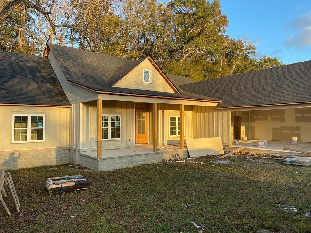 New Construction in Madison Grove. Nice floorplan with wooded backyard and front yard irrigation. LVP Flooring throughout, granite countertops in kitchen and bathroom. Master bathroom has luxury tiled shower and double vanities. 4 bedrooms plus bonus room. Home also features formal dining room, open floorplan with kitchen bar and breakfast area, covered patio for grilling and 2 car garage. Price, Plans, Specifications, Colors, Materials, etc. are subject to change. Please contact listing agent for details. Please note at the time of listing the HOA dues are as reflected in MLS. Prior to contracting please verify for any change as these can be subject to change.
