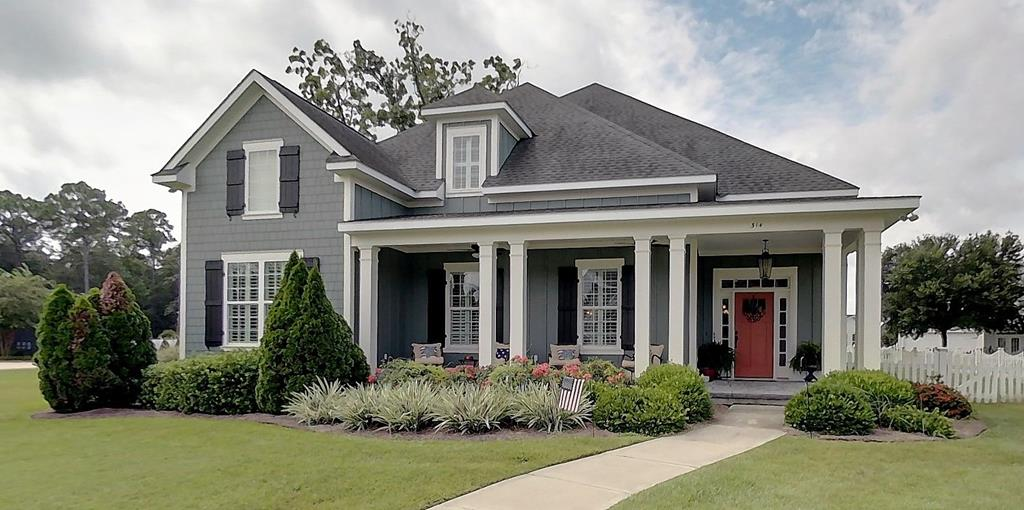 All the space you need is found in this very attractive 5 bedroom 4.5 bath cottage styled home in popular Madison Grove. Downstairs you find the ample sized gourmet kitchen with upgraded appliance package all overlooking the main great room area complete with judges panels, plantation shutters, ceiling moldings and pecan wood flooring. Also down stairs is the warm and cozy family room centered on the gas fireplace also richly embossed with judges panels, hand crafted moldings and pair of 8' French doors that overlook the main great room.  Most of the interior has been recently painted. The oversized Master bedroom suite, 2nd Master Suite guest bedroom and an ample sized 20 X 20 screened in porch complete the down stairs of this impressive home. Upstairs you'll find 3 more bedrooms each large enough to easily accommodate King Sized furnishings. Also upstairs is the impressive game room and bonus/media room, complete with it's own kitchen. Upstairs kitchen features dishwasher, refrigerator and microwave. Seller is licensed R.E. Broker in Georgia.  Verify HOA dues before contracting as these can be subject to change w/o forewarning.