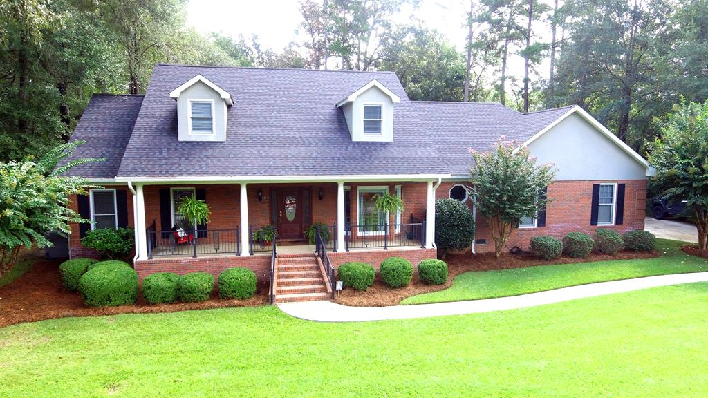 If you want it all, this is the house ... Location, great neighborhood, plenty of room for your family, gorgeous yard and its move in ready! The eat in kitchen is the heart of the home and this one will not disappoint. For larger groups or special family celebrations there is a spacious dining room. The master suite, large remodeled bathroom with soaking tub and separate shower are downstairs along with a second bedroom and full bath. The living room has a fireplace and cozy sitting area. The separate family room is where you will spend the majority of your family time, bright, lots of windows so you can enjoy the beautiful backyard or snuggle up, drink your coffee or watch a movie. Take a look at the photos! Upstairs you will find 3 bedrooms, 2 full baths and another play room or homeschooling room ... Possibilities are endless with this house. Outside is a beautiful fenced yard, brick patio, grilling area and storage building. Garage has plenty of room along with a drive-in lawnmower storage room, beautiful front porch and privacy fencing. Call today for an appointment.