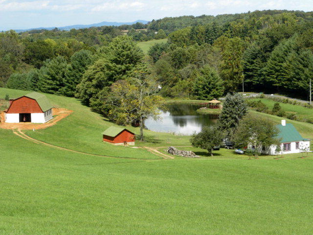 (5608) TRULY UNIQUE - HOUSE, BARN, GARAGE, TOTALLY UPDATED - BEAUTIFUL 1 1/2 - 2 ACRE STOCKED POND - GREAT VIEWS AND LOCATION. ADDITIONAL FARM EQUIPMENT AVAILABLE FOR PURCHASE.