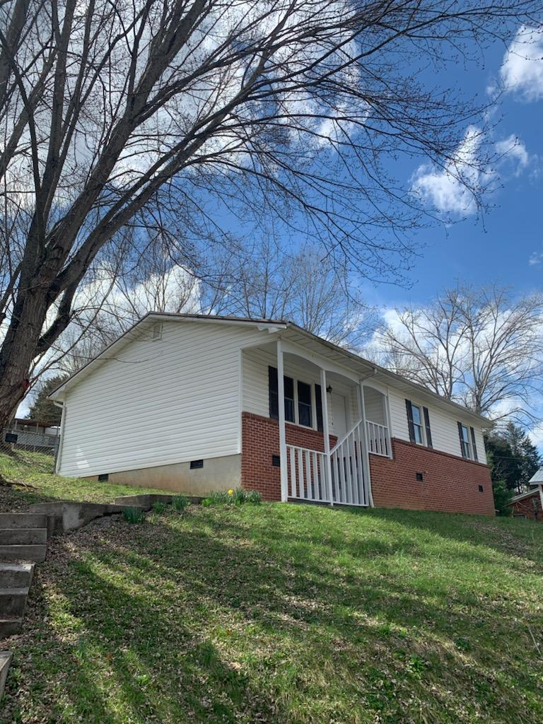 Newly renovated, with NEW HEAT PUMP, NEW METAL ROOF, NEW PAINT, and many updates. Back Yard has chain link fence. Outbuildings on the property. Contact listing agent for details and showing appointment.