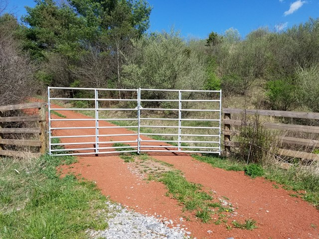 Excellent location just off Interstate 81 at Exit 54 is this nice 78 acre farm, great pasture land, spring fed pond; property joins National Forest and the Appalachian Trail.