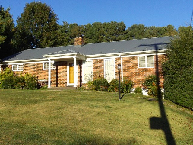 Wonderful very well maintained brick ranch home located on 1.63 acre in the Hall Edition of Smyth county. Large sunroom,  updated kitchen. Hardwood floors thru-out home.