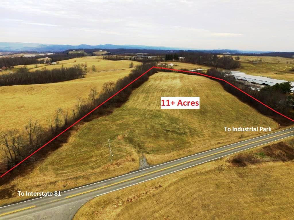 11+ acres of commercial development potential property in the town of Rural Retreat. This relatively flat lot has approximately 600' of road frontage and is within the Commercial Zone near other manufacturers and industries. This location, with long range mountain views and overlooking the Rural Retreat community, is approximately 1 mile from I-81 with easy access for commercial vehicles via Main Street and Gienow Road. Rural Retreat is within a hour's drive of Tennessee, North Carolina and West Virginia along the 2 major interstate corridors and is already home to a large plastic industry, a custom horse trailer manufacturer and various agricultural and natural resource providers. Contact the listing agent to see what incentives may be available here for your operation.