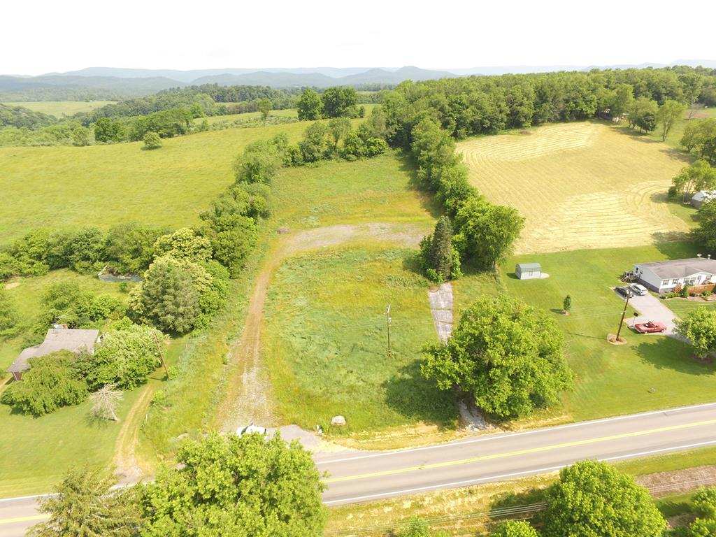 This property has so many possibilities.  Could be used as a single family or commercial building site.   Mostly level and easy access from I81.  Call today before this one is gone.