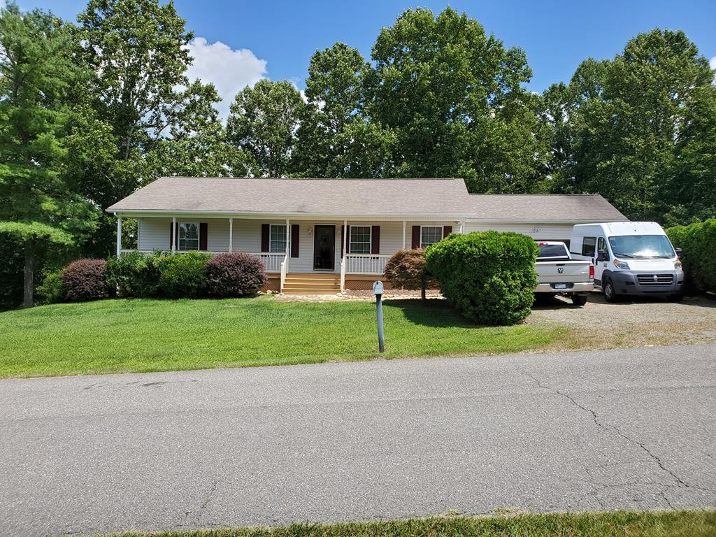 Beautiful 3 bedroom 2 bath home just outside the Galax City Limits in the Quail Ridge Community. This home has been very well maintained and sits on 1 acre of land. This home is a must see!