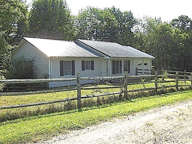 Cozy 2 bedroom, 2 bath home situated on 2 acres located just off the Blue Ridge Parkway! One-level living with a screened-in back porch to enjoy the mountain air. New heat pump just installed.