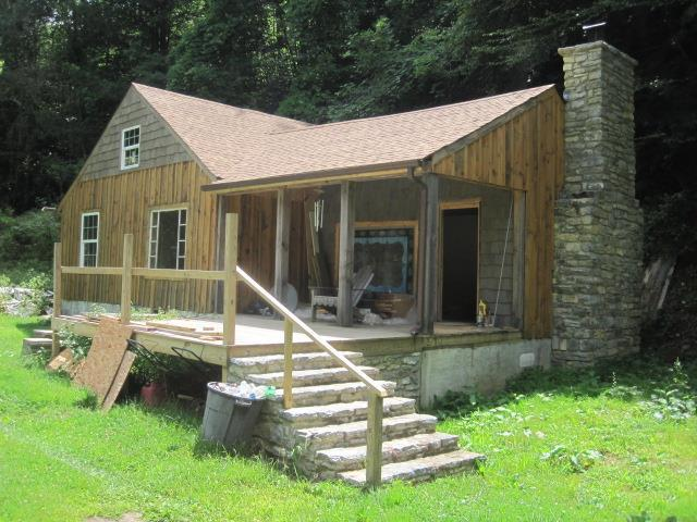 Finish this rustic cottage your own way!!  Ideal for a get away home in the heart of the recreational area of Whitetop Mountain. Visitors come from around the country for biking, hiking, fishing, hunting and just to view the breathtaking mountains and foliage.  This property is also ideal for investors for a seasonal or full time rental.
