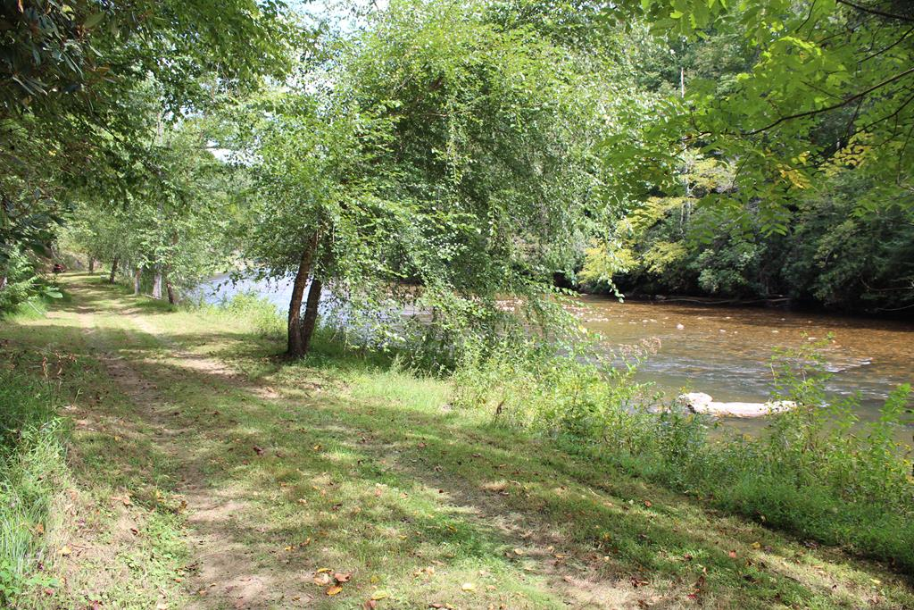 WATERFRONT & VIEWS & WOODED & PRIVATE ! Buildable 30 wooded private acres on BIG REED ISLAND CREEK !  479 FEET of bold wide water frontage on Big Reed Island Creek!  The land sits up out of the flood plain and overlooks the shoals to bring you that gorgeous sound of rolling water over the rocks all day long and year round. Yet you can easily have a path pretty much anywhere to access the water.  What a great find out here to have the privacy, seclusion and also possible timber value. Land is just as Mother Nature left it. We blazed a 4 foot wide trail on it for you to easily take an enjoyable journey through the woods and along the creek. Bring your kayaks, canoes, and fishing poles.  Wooded now but you can see the potential by looking at what the adjacent property owners have done to make creekside living at it's best. Wildlife galore, trails through the property, come  enjoy the peaceful sound of the creek rushing over the shoals. A 30ft. easement goes all the way to this property.