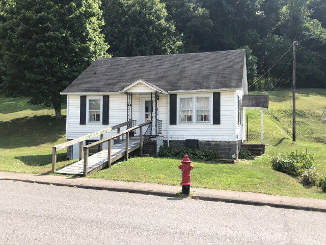 Great fixer upper. Cottage style house with many possibilities. Hardwood floors under carpets. Oil furnace new 2017, new hot water heater 2018. Attic completed for large 3rd bedroom. Full basement with inside and outside entries. Convenient location.