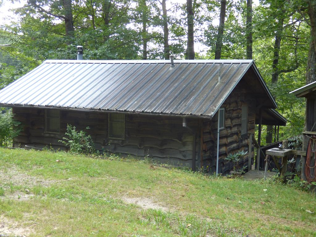 125 ACRES with a hunting cabin, creeks, small pond, cabin has electric service and a septic system  , it is spring fed for water.   There is potential long range views if timber was cut.  There is a considerable amount of timber on this property.  Owner will finance if needed and will listen to offers.  There are 4 wheeler trails throughout the property.  The property is very accessible from HWY 58, very close to the NEW RIVER and Mt. Rogers.  Cabin comes furnished with washer, dryer, 2 freezers, riding mower, appliances and furniture and dishes.