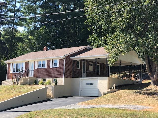 Move in ready! In Galax, on 1 1/2 acres, 3 bedroom, hardwood floors, full basement, all new appliances & conveniently located.