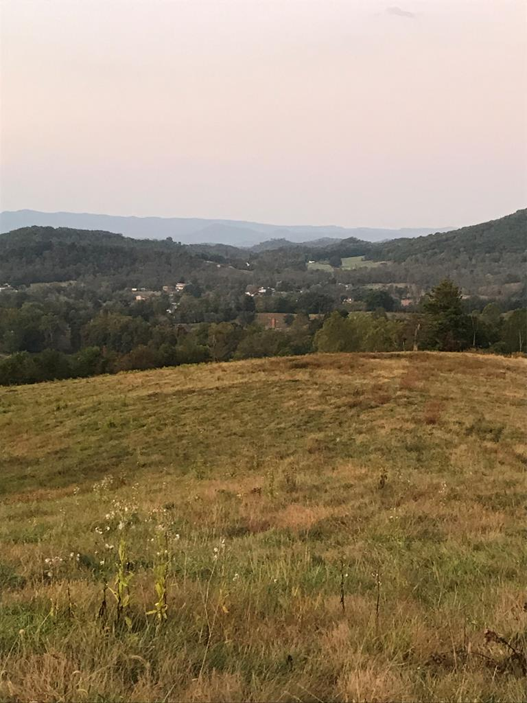 Beautiful, mostly rolling/hilly 77 acre farm located in the Southfork area of Smyth County. Gorgeous views of the  of the Mount Rogers National Recreation Area to the south and equally breathtaking views to the north. Pond on property.  Deeded access from Sugar Street.