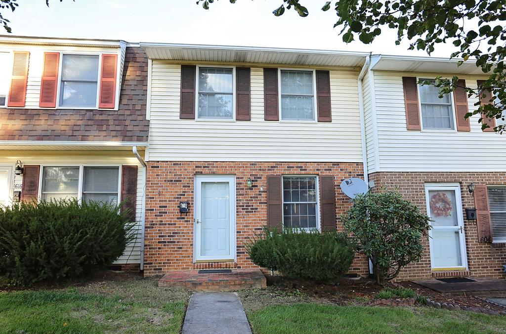 Tired of renting? Here is your chance to purchase a nice townhouse located in the heart of Wytheville! Conveniently located to all area schools and all of the town amenities. Offering 2 large bedrooms, with a full bath upstairs, downstairs you have a large living area, kitchen/dining, utility, and half bath. Outside a deck area for setting and storage. Call today to learn more!