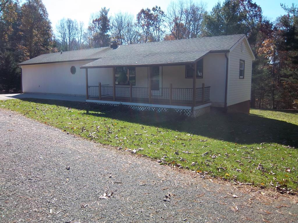 Very nice house with large rooms, full basement, heatpump. private wooded back yard.  A lot of house for the money.
