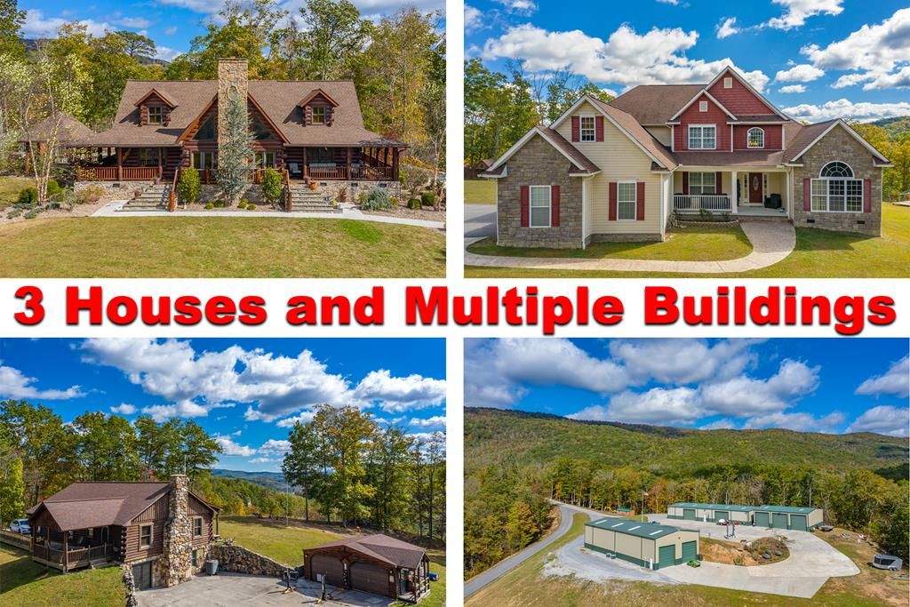 Imagine owning THREE spectacular homes with year-round magnificent views of the mountains. All of this is located on a very secluded 30 acre tract located in Bland County, VA. This property includes 3 homes, 3 enormous buildings, 5 wells and 3 generators to keep everything running smoothly! A truck with snow plow also conveys. Too many amenities to list. You will have to see this property in person to appreciate it. Only qualified buyers will be allowed to view this property.