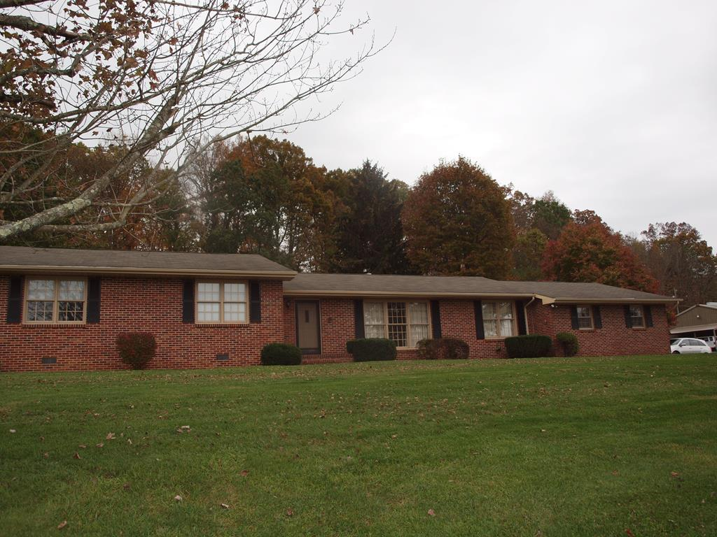 Wonderful convenient location near I-81 and Johnston Memorial Hospital. Close to Walmart, Lowes and restaurants. Easy access to I-81. Spacious brick ranch on one level  with large oversize garage with additional storage. Additional garage. House and 1.25 acres can be purchased for $235,000. All information subject to errors and omissions.Buyer or buyer's agent to verify all information.
