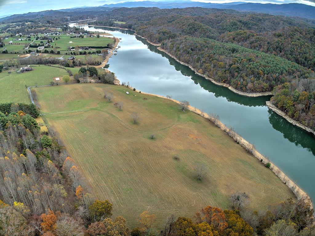 Come and see this very nice South Holston lake front lot with acreage. The site offers 4.02 acres, with a flat and rolling landscape and great views of the lake and surrounding mountains. Location also offers easy access to all of the amenities in the Town of Abingdon, being a 10 minute drive away. Come build your dream home or homes on the beautiful South Holston Lake property.