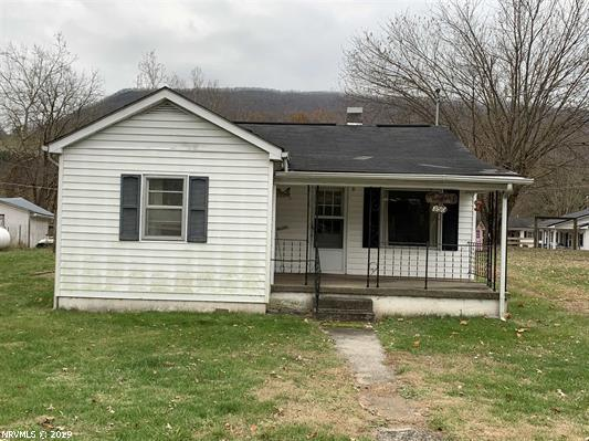 This 2 bed 1 bath home is located right in the middle of Rocky Gap. It is close to the gas station, post office and Bland Intermediate and High School. This house sits on a beautiful .5+/- acre lot. There is a detached carport with two sheds for storage.