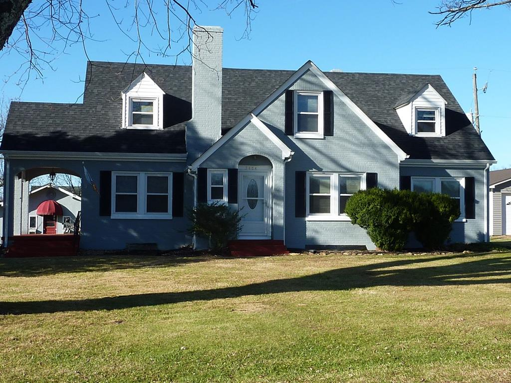 Lovely, traditional home less than 1/2 mile from the Blue Ridge Parkway. 5 good sized bedrooms for lots of family, guests, office, hobby room options. Upper level bonus room for potential 6th bedroom. Formal living and dining room along with a cozy den and eat in kitchen space. Full unfinished basement for extra storage or possible expansion of living areas. Updates over the past 3 years include new heat pump with propane back up, new roof, new gutters, new insulated tilt windows and exterior doors. The exterior has recently been painted along with an electrical service update and newly installed sump pump. All kitchen appliances are less than 3 years old. The .94 acre consists of open, flat lawn with large trees, mini grape vineyard and a good selection of chestnut and fruit bearing trees. 2 car detached garage along with additional shed. Tons of storage inside and out. Move in ready with no maintenance worries! Near the Blue Ridge Parkway and local activities.