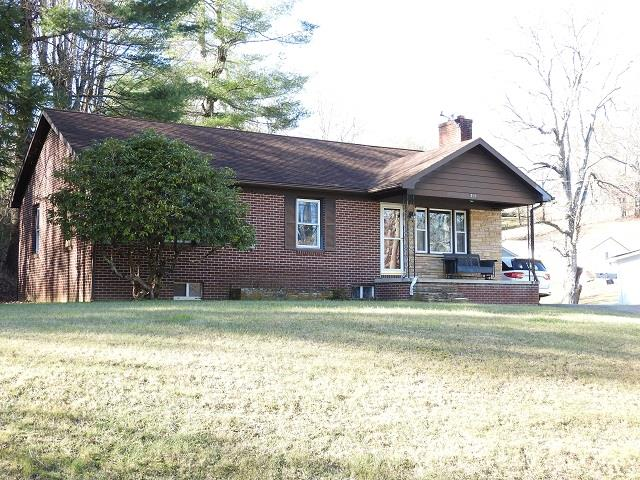 Nice 3 bedroom 1 bath brick home with full basement in Galax city limits. This home is currently undergoing some remodeling and heat pump soon to be installed. Property also includes a second home that would be great for rental.