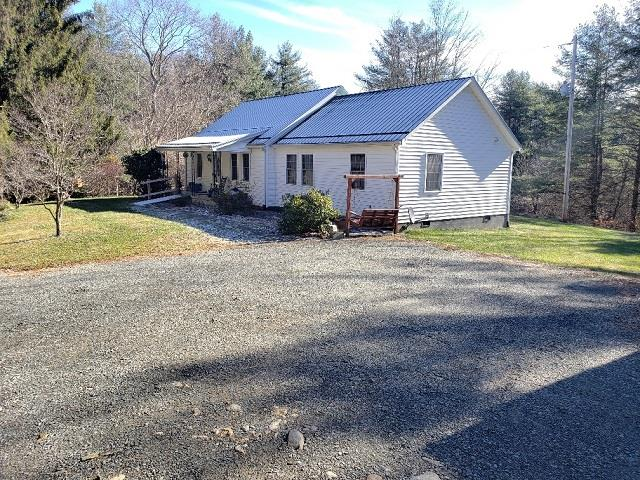 WITHIN MINUTES OF THE JEFFERSON NATIONAL FOREST!  LOTS OF ROOM WITH OVER 2000' SQ FT. HOME HAS BEEN UPDATED WITH VINYL SIDING, METAL ROOF, REPLACEMENT WINDOWS AND HEAT PUMP. WITH A LITTLE WORK ON THE INSIDE YOU WOULD HAVE A LOT OF HOUSE FOR THE MONEY!