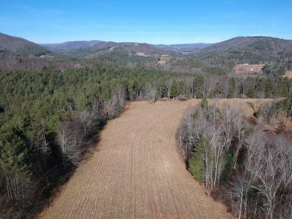 53.946+/- ACRES WITH A GORGEOUS RIDGE TOP TO BUILD THAT FULL TIME HOME OR WEEKEND GET A WAY. MIXTURE OF OPEN AND WOODED LAND WITH NICE HAY FIELD ON TOP OF THE RIDGE. PROPERTY HAS 2 CREEKS AND WITHIN 150 YARDS OF A STOCKED TROUT STREAM. GREAT RECREATIONAL TRACT WITH ATV TRAILS AND LOADED WITH WILDLIFE AND LOCATED WITHIN MINUTES OF THE JEFFERSON NATIONAL FOREST AND GRAYSON HIGHLANDS STATE PARK.