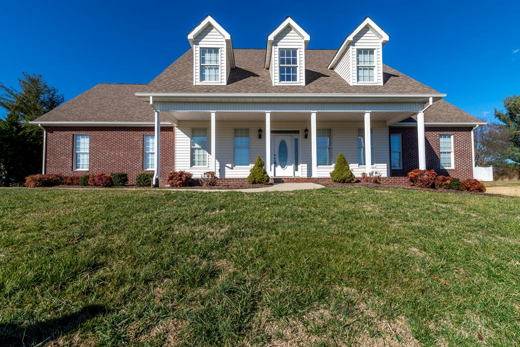 Welcome Home!  This 5 bedroom 3 and a half bath home is waiting for it's new owner.  This home features new paint throughout, hardwoods, new heat pump, master and laundry on main and so much more!   Over 3,600 sq ft in a prestigious neighborhood.  This home has a spacious kitchen open to the dining so entertaining is a breeze.  Steps off the dining is the great room with gas fireplace to help out on utilities. Upstairs are 4 other bedrooms and another full bath plus plenty of storage.  Lets not forget about the 2 car garage, open patio in the back with a privacy fence.