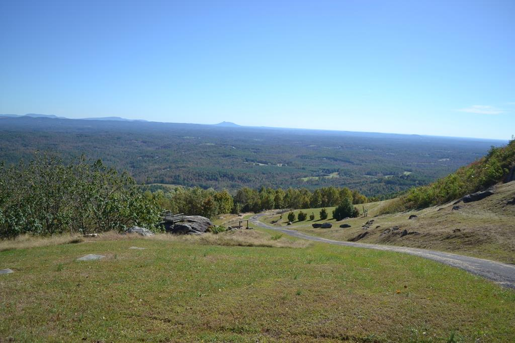 If you've ever wanted that million dollar view, you can find it right here! Build your mountain dream home here and you can own the 20+ mile view across the valley to the distinct peak of Pilot Mountain. This offering includes 18+ acres, a paved drive, a small stream, a spring and small pond, a stone brick oven, two elevated platforms for entertaining and taking in the views, and a shelter that is ready for two bathrooms to be tied to your new water system.  With room to stretch your wings, the spring, and the view, this property is a rare opportunity indeed. Owner financing available with 20% down-contact agent for details. Call for your appointment today.
