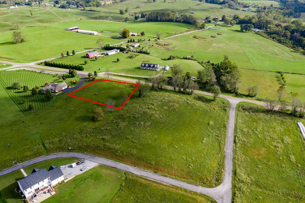 Beautiful lot with gorgeous views of White Top - STICK-BUILT HOMES AND MODULARS. UNDERGROUND UTILITIES, CABLE, PHONE, ELEC. OFF-FRAME MODULAR HOMES ALLOWED BUT MUST MEET CC&R'S. PERKED FOR 5 BR