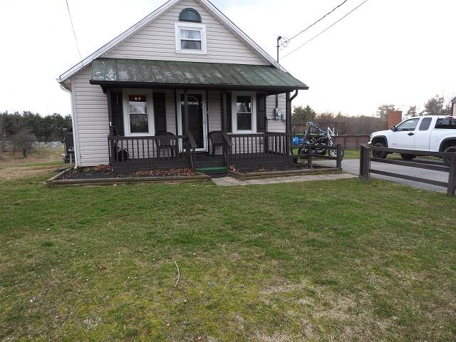 Cozy starter home! This 2 bedroom 1 bath house is perfect to start out in. Has heat pump and big storage building and is right outside Galax city limits and the town of Hillsville. Convenient to shopping and I-77.